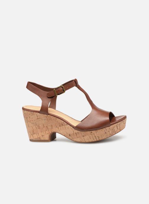 Sandales et nu-pieds Clarks MARITSA CARIE Marron vue derrière