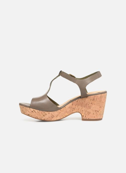 Sandales et nu-pieds Clarks MARITSA CARIE Vert vue face