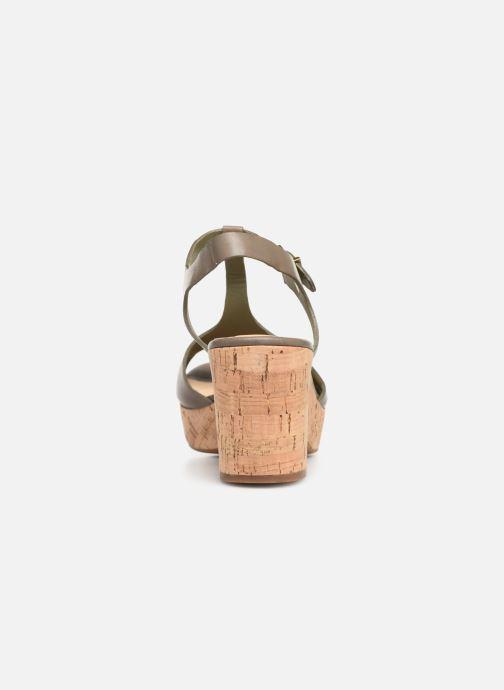 Sandales et nu-pieds Clarks MARITSA CARIE Vert vue droite