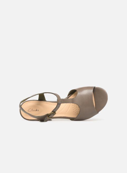 Sandales et nu-pieds Clarks MARITSA CARIE Vert vue gauche