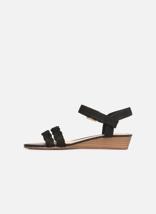 Sandales et nu-pieds Clarks MENA BLOSSOM Noir vue face