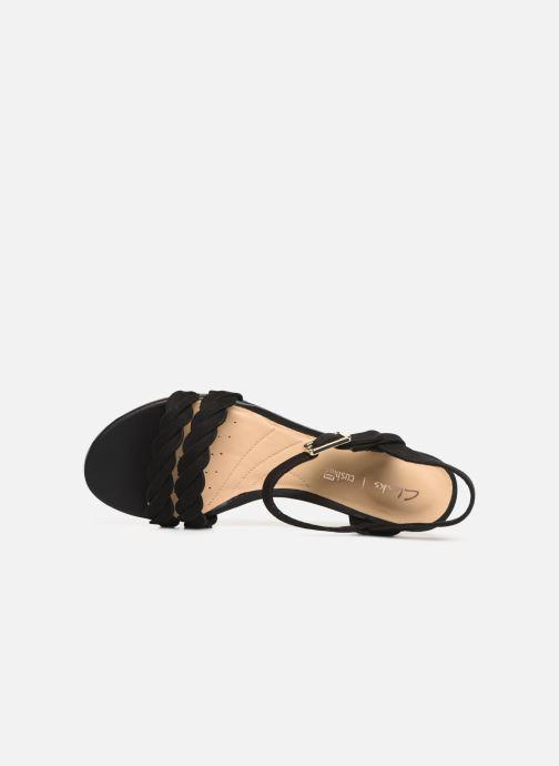 Sandales et nu-pieds Clarks MENA BLOSSOM Noir vue gauche