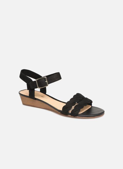 Sandaler Clarks MENA BLOSSOM Sort detaljeret billede af skoene