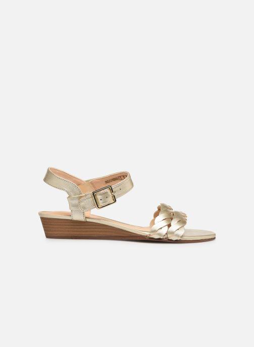 Sandales et nu-pieds Clarks MENA BLOSSOM Or et bronze vue derrière