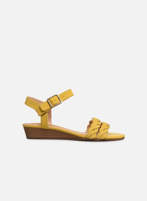 Sandalen Clarks MENA BLOSSOM gelb ansicht von hinten