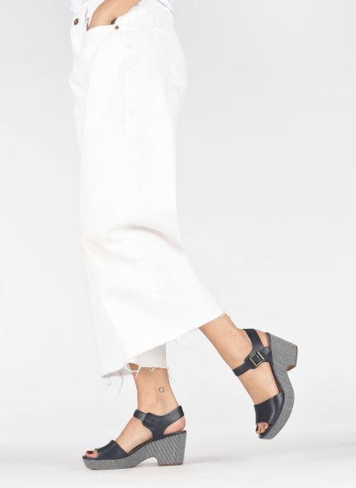 Sandales et nu-pieds Clarks MARITSA JANNA Bleu vue bas / vue portée sac