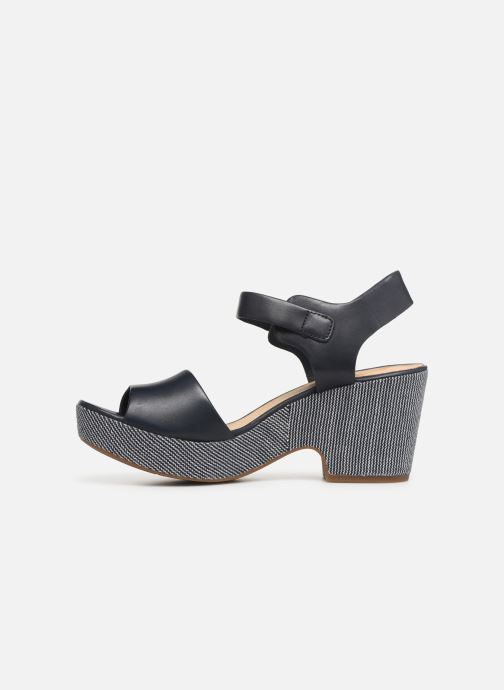 Sandales et nu-pieds Clarks MARITSA JANNA Bleu vue face