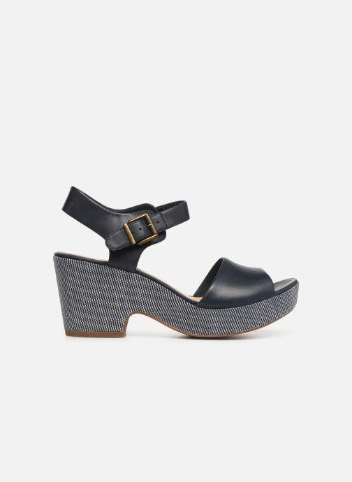 Sandales et nu-pieds Clarks MARITSA JANNA Bleu vue derrière