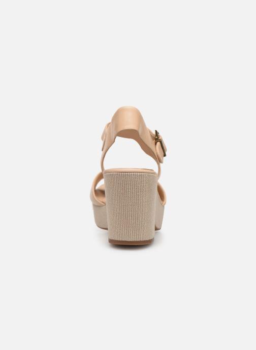 Sandales et nu-pieds Clarks MARITSA JANNA Beige vue droite