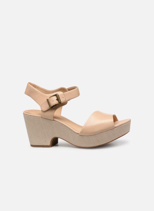 Sandales et nu-pieds Clarks MARITSA JANNA Beige vue derrière