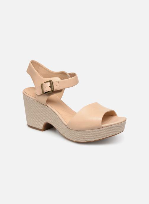 Sandales et nu-pieds Clarks MARITSA JANNA Beige vue détail/paire