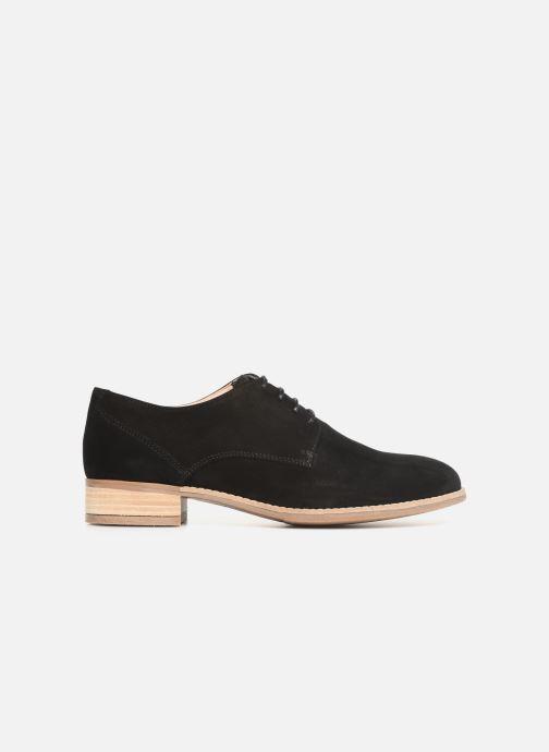 Zapatos con cordones Clarks NETLEY BLOOM Negro vistra trasera
