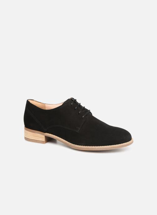 Zapatos con cordones Clarks NETLEY BLOOM Negro vista de detalle / par
