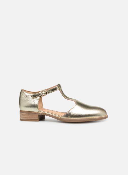 Loafers Clarks NETLEY FRESH Bronze and Gold back view