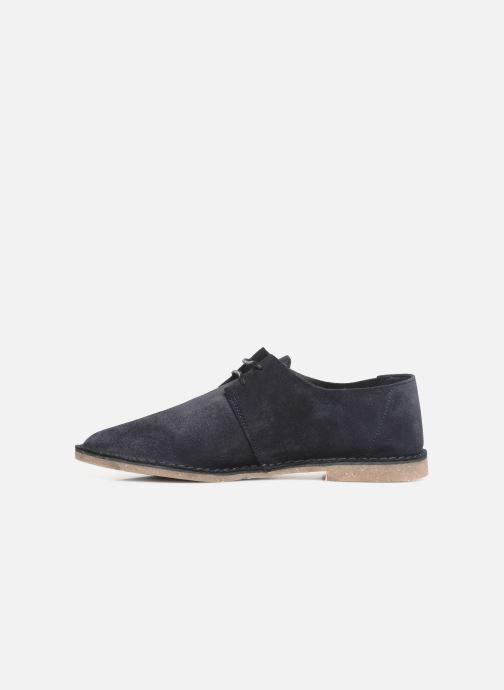 Chaussures à lacets Clarks ERIN WEAVE Bleu vue face