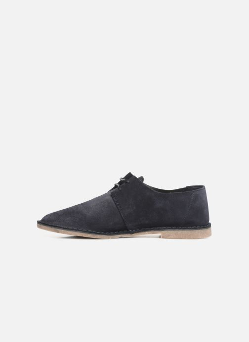 Zapatos con cordones Clarks ERIN WEAVE Azul vista de frente