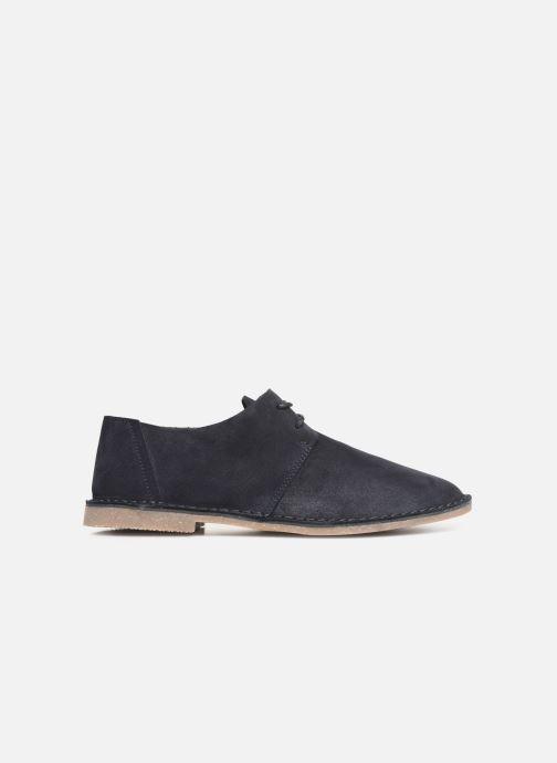 Chaussures à lacets Clarks ERIN WEAVE Bleu vue derrière