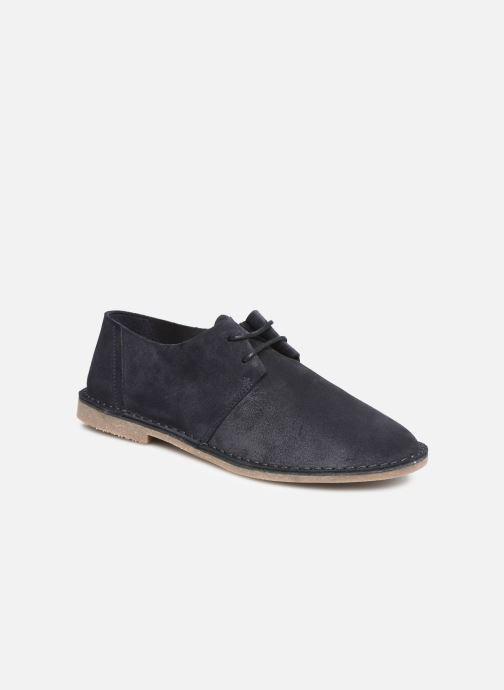 Chaussures à lacets Clarks ERIN WEAVE Bleu vue détail/paire