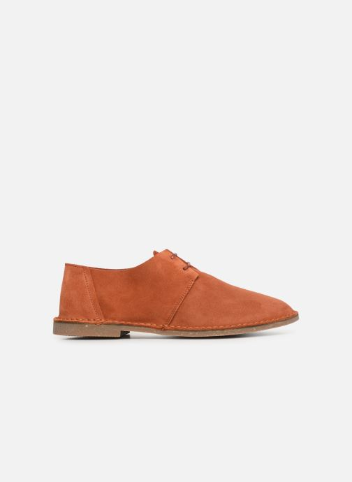 Zapatos con cordones Clarks ERIN WEAVE Naranja vistra trasera