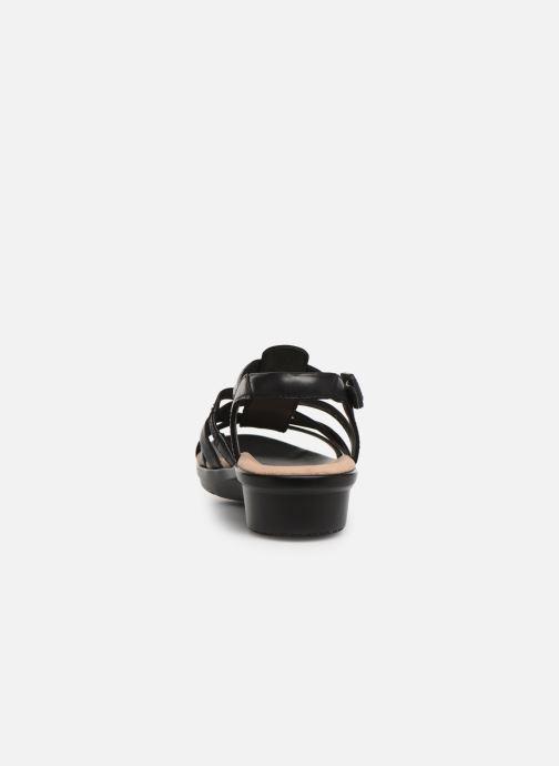 Sandales et nu-pieds Clarks LOOMIS KATEY Noir vue droite