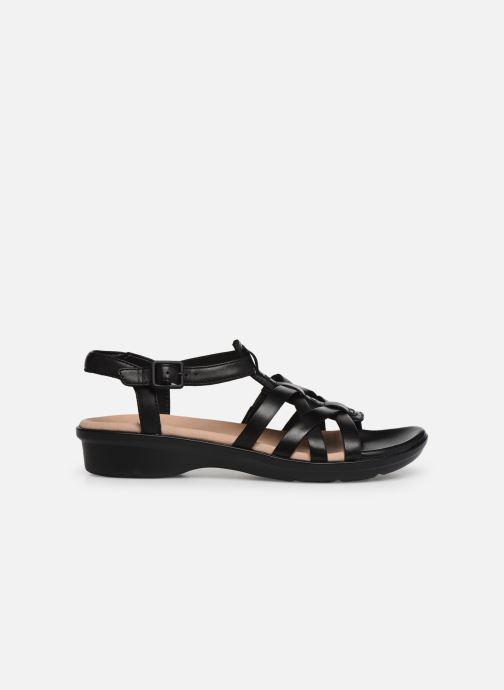 Sandales et nu-pieds Clarks LOOMIS KATEY Noir vue derrière