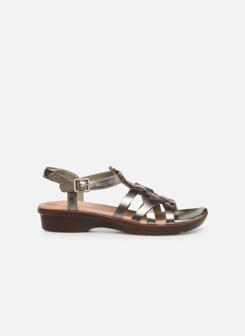 Sandales et nu-pieds Clarks LOOMIS KATEY Argent vue derrière