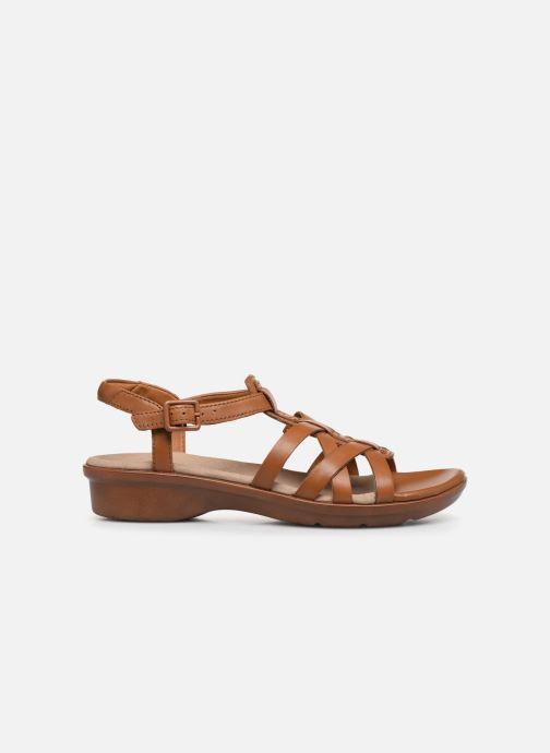 Sandales et nu-pieds Clarks LOOMIS KATEY Marron vue derrière
