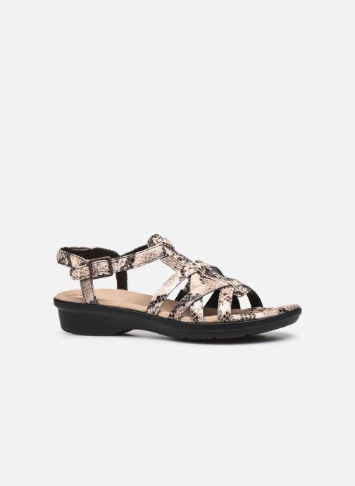 Sandales et nu-pieds Clarks LOOMIS KATEY Gris vue derrière