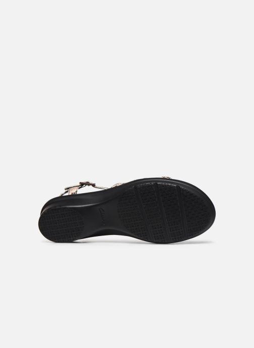 Sandales et nu-pieds Clarks LOOMIS KATEY Gris vue haut