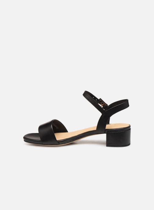 Sandales et nu-pieds Clarks ORABELLA IRIS Noir vue face