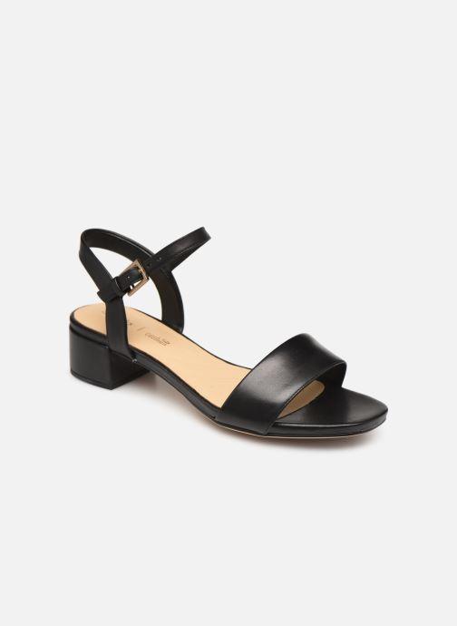 Sandaler Clarks ORABELLA IRIS Sort detaljeret billede af skoene