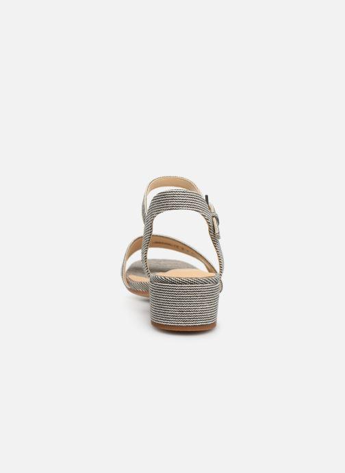 Sandales et nu-pieds Clarks ORABELLA IRIS Bleu vue droite