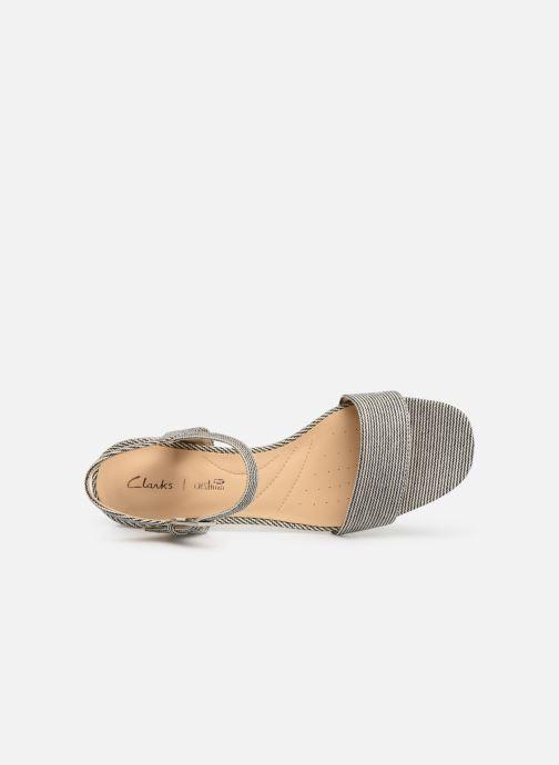 Sandales et nu-pieds Clarks ORABELLA IRIS Bleu vue gauche