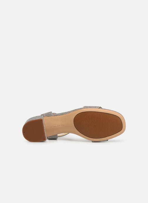 Sandales et nu-pieds Clarks ORABELLA IRIS Bleu vue haut
