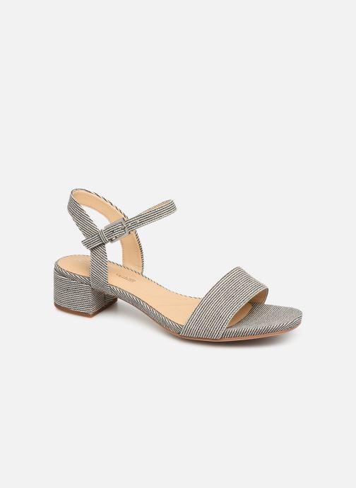 Sandaler Clarks ORABELLA IRIS Blå detaljeret billede af skoene