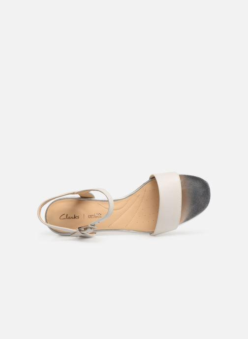 Sandales et nu-pieds Clarks ORABELLA IRIS Blanc vue gauche