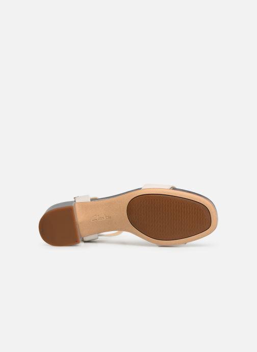 Sandales et nu-pieds Clarks ORABELLA IRIS Blanc vue haut