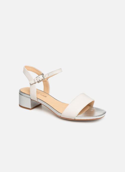 Sandaler Clarks ORABELLA IRIS Hvid detaljeret billede af skoene