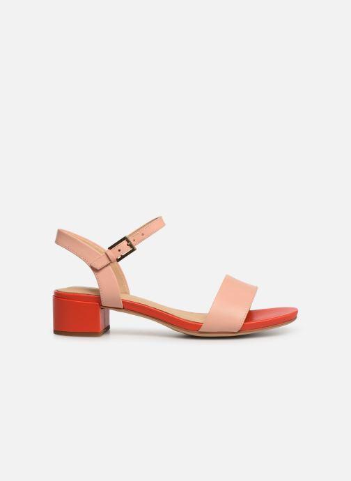 Sandalen Clarks ORABELLA IRIS rosa ansicht von hinten