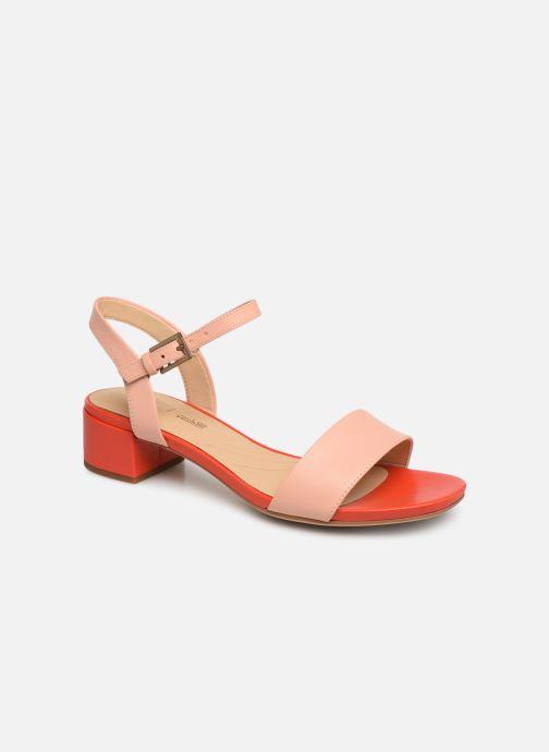 Sandales et nu-pieds Clarks ORABELLA IRIS Rose vue détail/paire