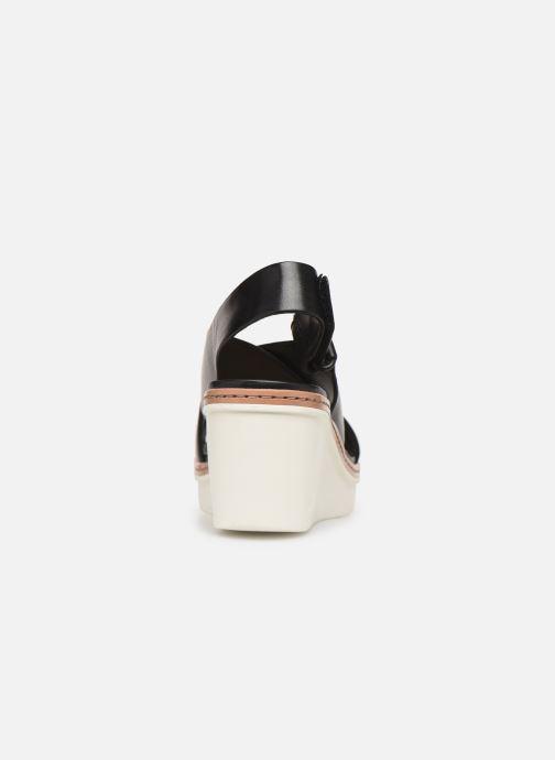 Sandales et nu-pieds Clarks PALM CANDID Noir vue droite