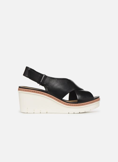 Sandals Clarks PALM CANDID Black back view