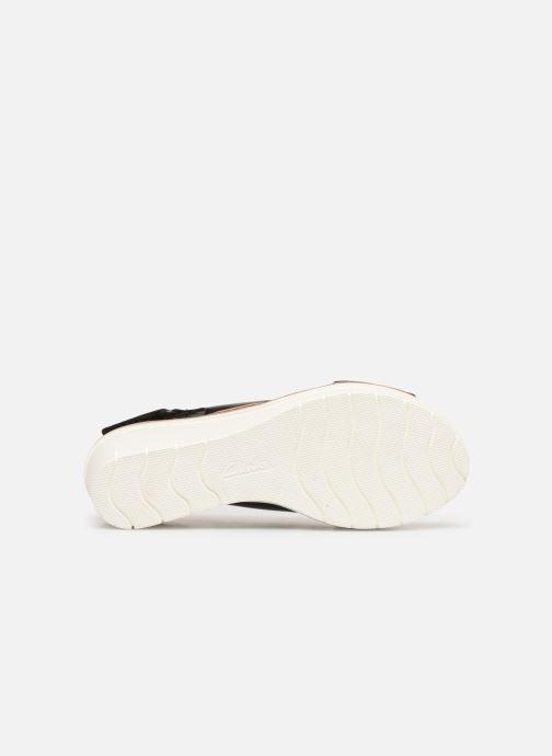 Sandales et nu-pieds Clarks PALM CANDID Noir vue haut