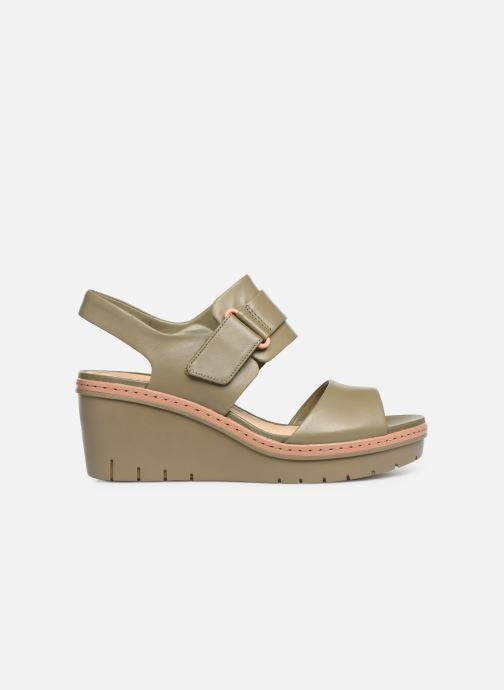Sandales et nu-pieds Clarks PALM STELLAR Vert vue derrière