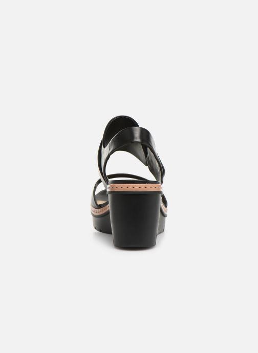Sandales et nu-pieds Clarks PALM STELLAR Noir vue droite