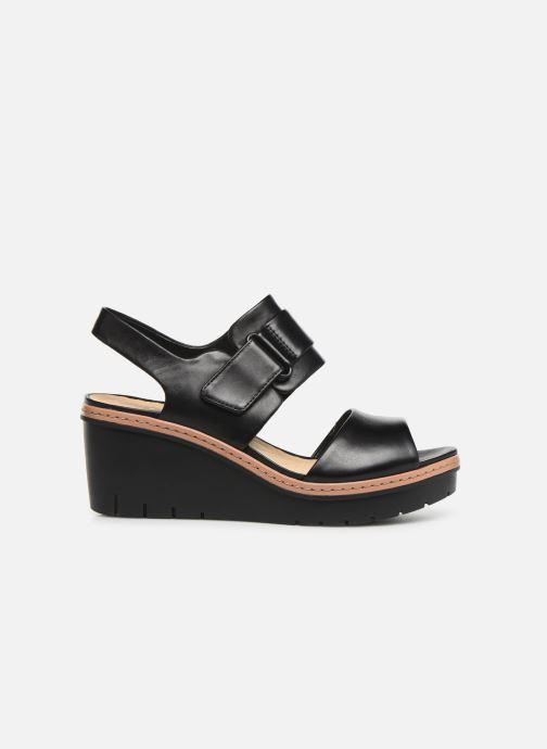 Sandales et nu-pieds Clarks PALM STELLAR Noir vue derrière