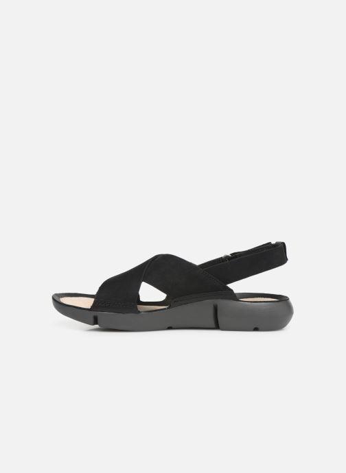Sandales et nu-pieds Clarks TRI CHLOE New Noir vue face
