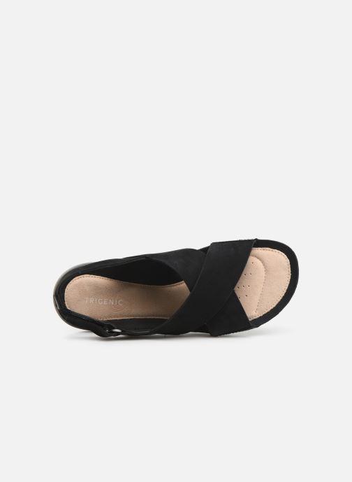 Sandales et nu-pieds Clarks TRI CHLOE New Noir vue gauche