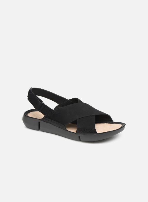 Sandales et nu-pieds Clarks TRI CHLOE New Noir vue détail/paire