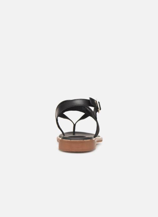Sandales et nu-pieds Clarks ELLIS OPAL Noir vue droite